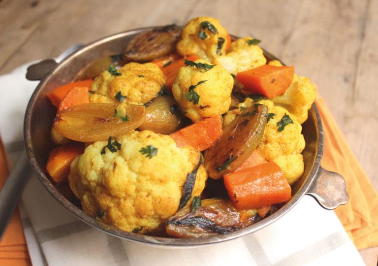Cari de légumes indien