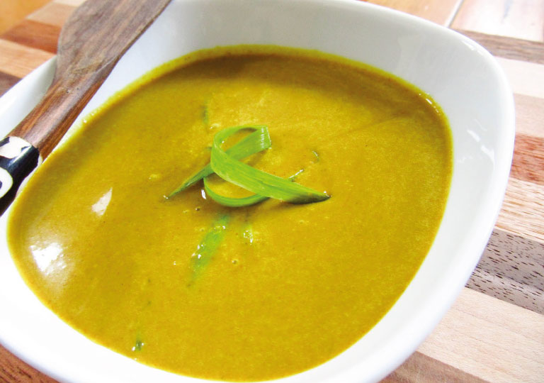 Sauce au curry sucré