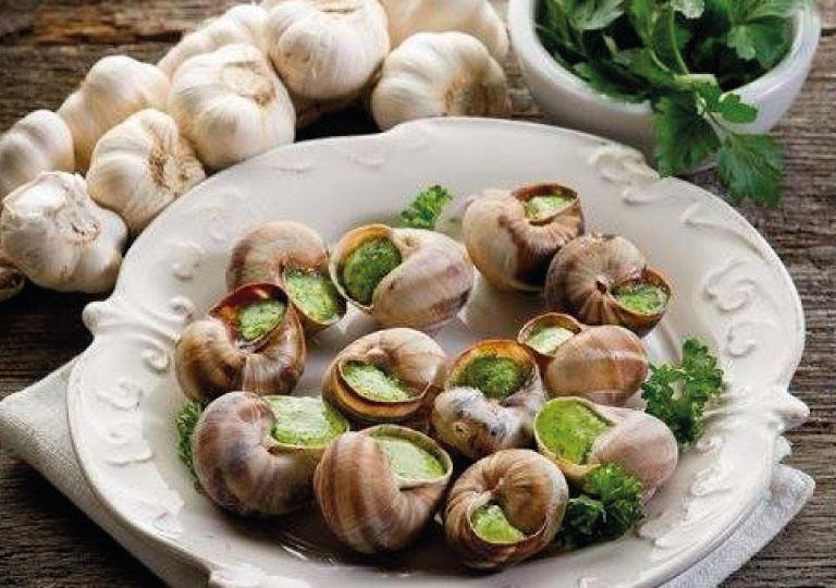 Escargots au cresson