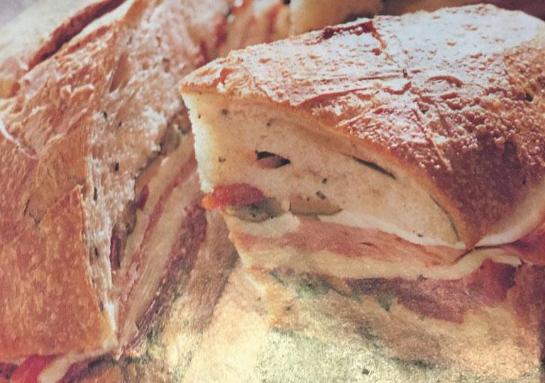 Sandwich farci à l'italienne